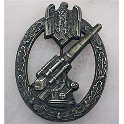 WW2 GERMAN NAZI ARMY FLAK ARTILLERY BADGE - Maker