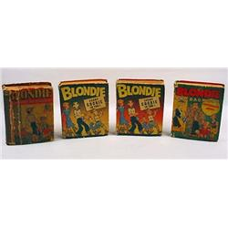 LOT OF 4 VINTAGE BLONDIE BETTER LITTLE BOOKS - 2 C