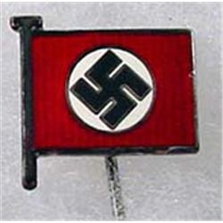 WW2 GERMAN NAZI ENAMELED STICK PIN