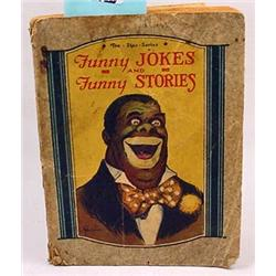 "VINTAGE BLACK AMERICANA ""FUNNY JOKES AND FUNNY STO"