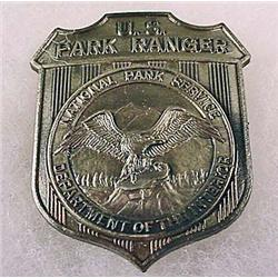 OBSOLETE US PARK RANGER NATIONAL PARK SERVICE BADG