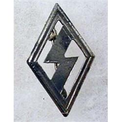 WW2 GERMAN NAZI HITLER YOUTH PIN