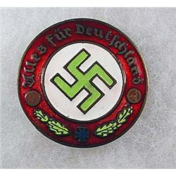 WW2 GERMAN NAZI PARTY BADGE - Heilig Soll Uns Sein