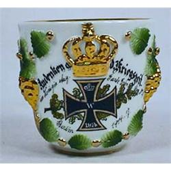 IMPERIAL GERMAN REMEMBERANCE CUP - Some hand paint