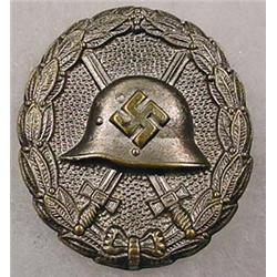 WW2 GERMAN NAZI CONDOR LEGION SILVER WOUND BADGE -