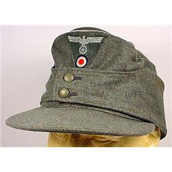 WW2 GERMAN NAZI ARMY OFFICER'S M-43 CAP - Maker Ma