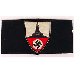 WW2 GERMAN NAZI VETERAN'S ARM BAND
