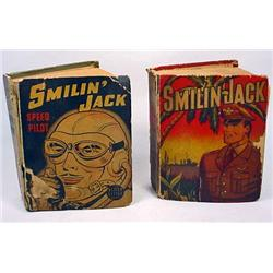 LOT OF 2 VINTAGE SMILIN' JACK BETTER LITTLE BOOKS