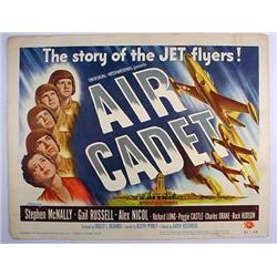 "1951 ""AIR CADET"" LOBBY CARD - AIRFORCE CLASSIC - A"