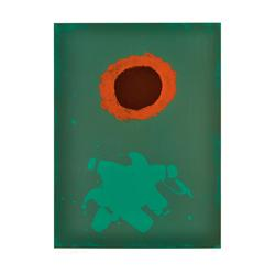 "Adolph Gottlieb - ""Chrome Green"""
