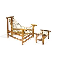 Jean Gillon - Lounge chair and ottoman