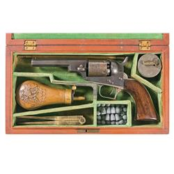 Cased Colt Model 1848 Baby Dragoon Revolver with Accessories
