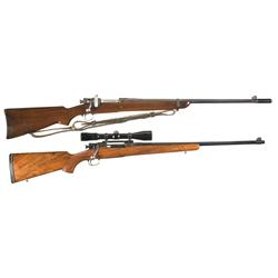 Two Sporterized U.S. 1903 Rifles -A) U.S. Springfield Model 1903 Sporting Rifle with Sling  B) U.S.
