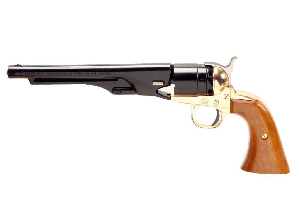 Colt Civil War Centennial Cal  22S SN:20831W, Single shot