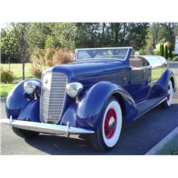 """Howard Hughes """"Boat Tail Speedster"""" Car This is a chance of a lifetime to own a car that was built f"""