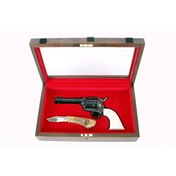 Colt SAA 2nd gen Cal .44-40 SN:S05804A Very nice Colt Frontier Six Shooter in .44-40 caliber.  Blued