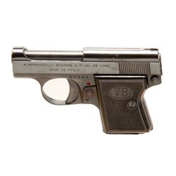 Bernardelli Baby Cal .22L SN:20536 Single action semi auto pocket pistol, made in Italy. Blued finis