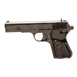 Norinco Mdl 213 Cal 9mm SN:38305350 Single action semi auto pistol. Commercial Chinese version of Ru