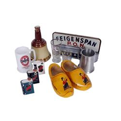"Collection of Drinking Memorabilia including a ""Bob Hope Desert Classic Michelob Stein"", a ""Bob Hope"