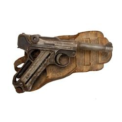 Luger Mdl 1920 Commercial Cal .30 Luger SN:5167, In relic condition with Western holster found in a