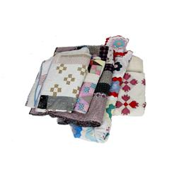 Collection of Five Antique Quilts