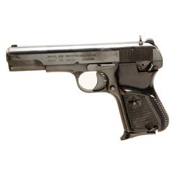 Norinco Mdl 213 Cal 9mm SN:31087527 Single action semi auto pistol. Commercial Chinese version of Ru