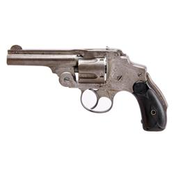 Smith & Wesson Safety Hammerless Cal .38 SN:111906, Nice double action only 5 shot revolver with gri