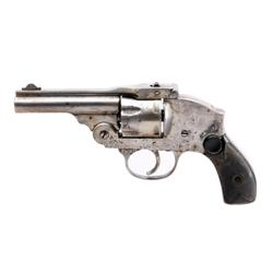 Empire State DA Cal .38 SN: 255156 Double action only top break 5 shot revolver with internal hammer