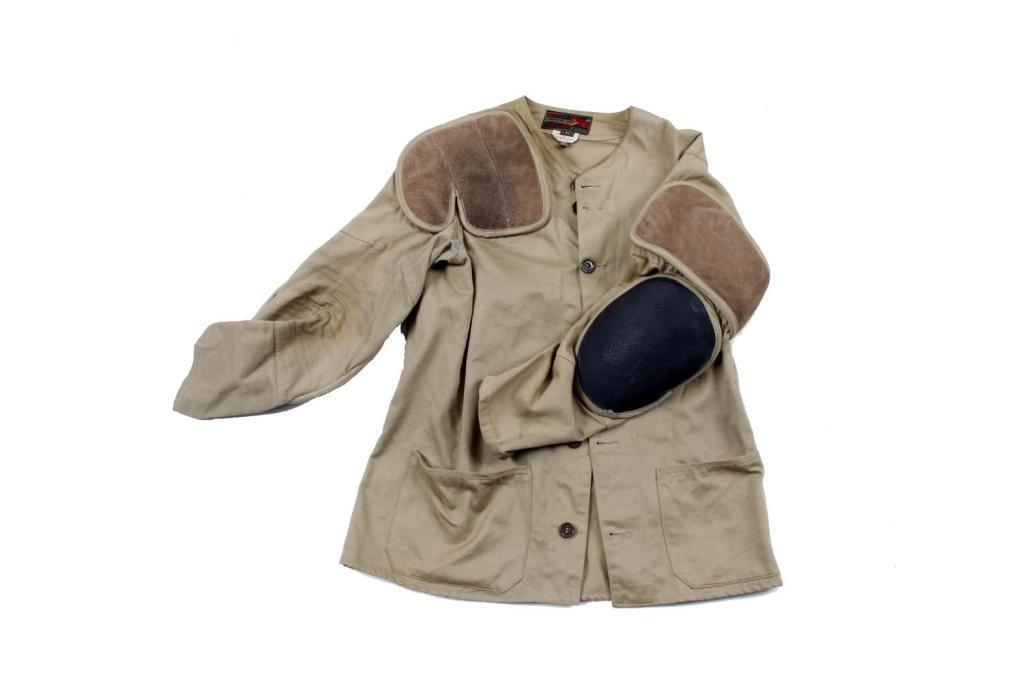 bb8d294138ff1 Image 1 : 10X Shooting Jacket by Imperial size 44, leather shoulder pad,  reinforced
