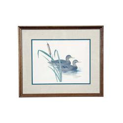 """Collection of Six Decoy Prints including four framed & matted images by Jim Bonno which are 13""""X17"""""""