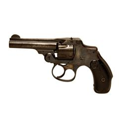 """Smith & Wesson New Departure Cal .32 SN:215780, Double action, 5 shot, third model """"Lemon Squeezer"""""""