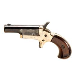 Colt Derringer Cal .22S SN:10900D/10901D A nice pair of Colt single shot Derringers, blued barrels,