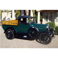 1928 Ford Convertible Pickup Vin# A669323, with 123,459 miles. Manual transmission, 4 cylinder, exte