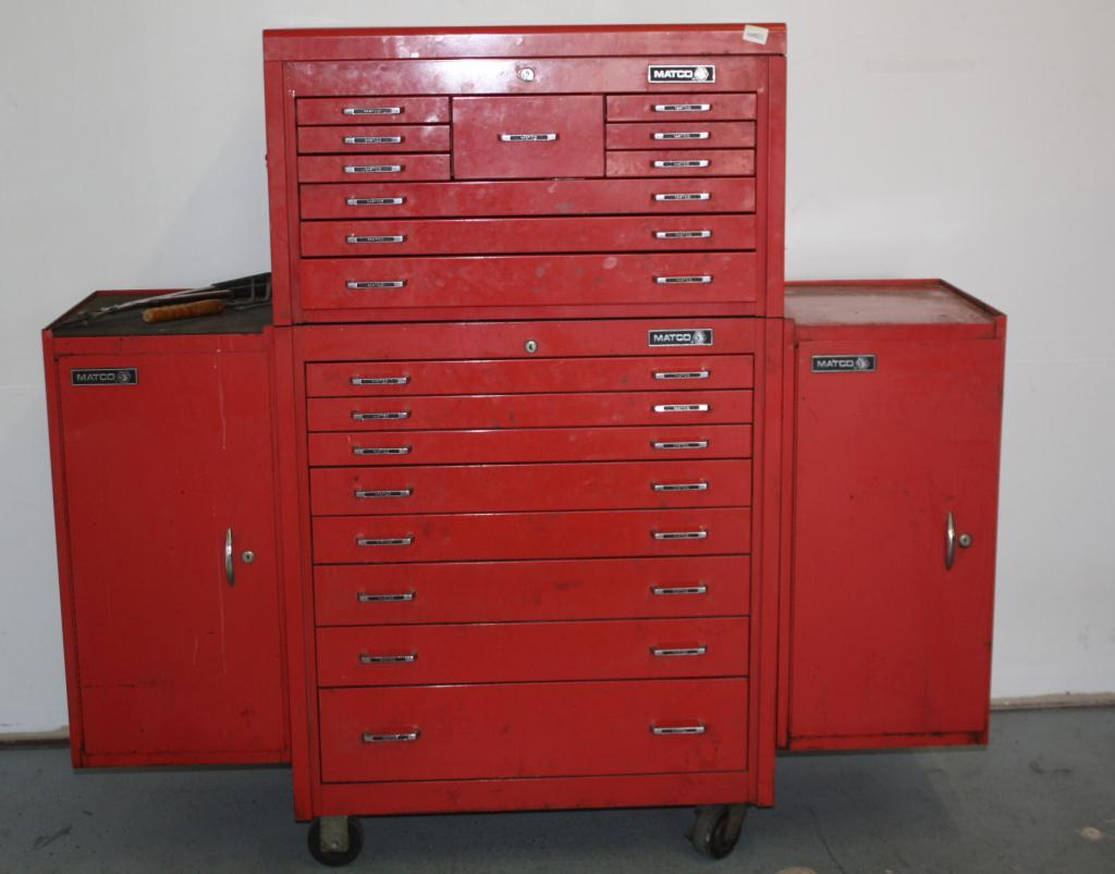 Matco Tool Box W Tools