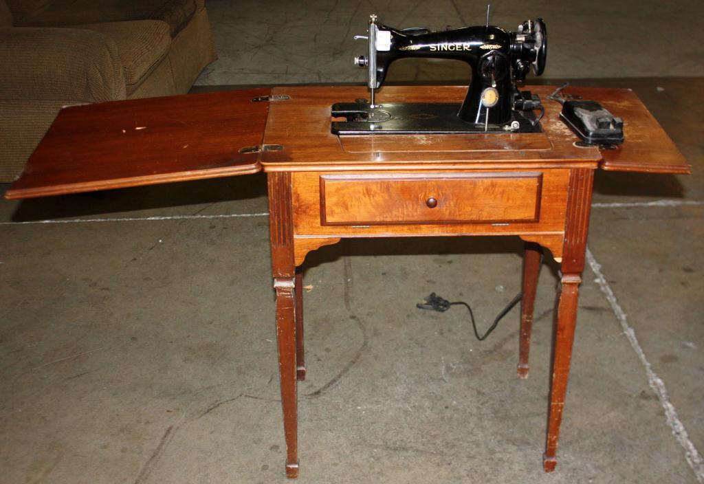 Old Singer Sewing Machine Price