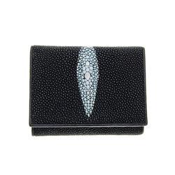 Unisex Stingray Hide Skin Tri-fold Wallet  (ACT-059)