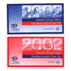 2002 US Coin Original Mint Set GEM Potential (COI-2302)