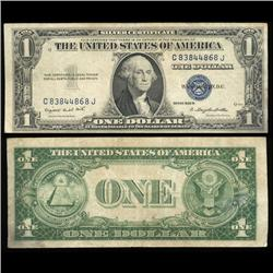 1935G $1 Silver Certificate Crisp Circulated SCARCE (COI-4679)