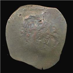 1200AD Byzantine Trachy Hi Grade Cup coin (COI-5195)