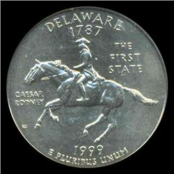 1999D Delaware Quarter ICG MS67 (COI-5412)