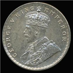 1917C India Silver Rupee High Grade (COI-6646)