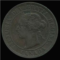 1893 Canada 1c Hi Grade SCARCE (COI-6685)