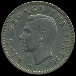 1948 New Zealand Shilling George VI Hi Grade (COI-6977)