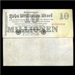 1923 Germany 10000000 Mark Note Hi Grade Rare (CUR-05658)