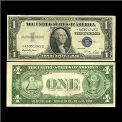 1935E $1 Silver Certificate Star Note High Grade AU SCARCE (CUR-06011)