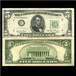 1950 $5 NY Federal Reserve Note Circulated (CUR-06048)