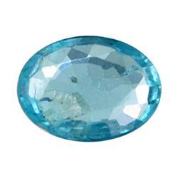 0.74ct Blue Green Rare Neon Natural Apatite  (GEM-12020)