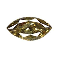 0.26ct Natural Brown Diamond Marquise (GEM-16170)