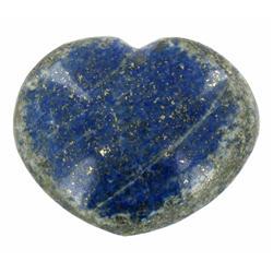 375ct Natural Deep Royal Blue Lapis Heart (GEM-17481)