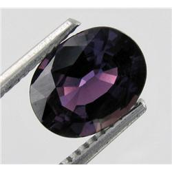 1.98ct Natural Deep Purple Sapphire Madagascar (GEM-18009)
